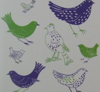 Greetings Card - Jolly Birds