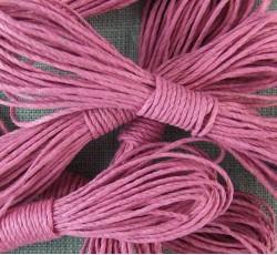 Hemp String - Bright Pink