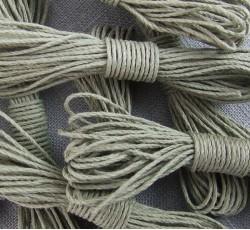 Hemp String - Dusty Olive