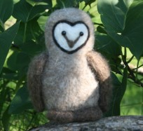 Needle Felting Kit - Barn Owl