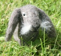 Needle Felting Kit - Lop-Eared Rabbit