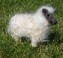 Needle Felting Kit - Wensleydale Sheep