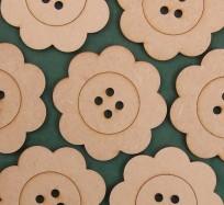 Buttons - Flower