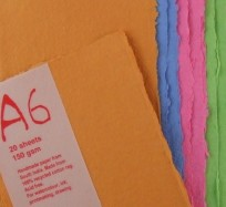 Paper Pack - A6 Coloured