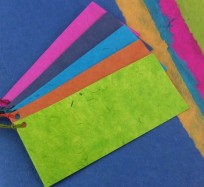 Gift Tags - Mixed Colour Lokta Cards