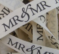 Wedding Ribbon - Mr & Mr
