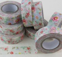Pretty Sticky Tape - Multicolour Flowers