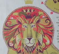 Tea Towel / Fabric Kits - Clarence Lion