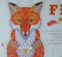 Tea Towel / Fabric Kits - Felix Fox
