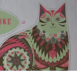 Tea Towel / Fabric Kits - Marmaduke Cat