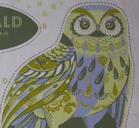 Tea Towel / Fabric Kits - Oswald Owl