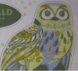 Tea Towel / Fabric Kits - Oswald Owl